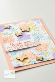 """emphasize """"thank you"""" embossing in post"""